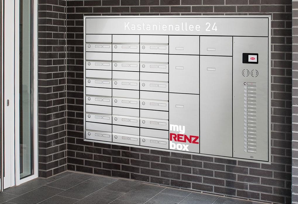 RENZ Paketkasten Fur Einfamilienhauser MyRENZbox Paketbriefkasten