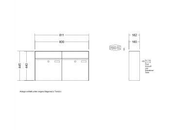 renz aufputz briefkastenanlagen. Black Bedroom Furniture Sets. Home Design Ideas